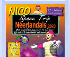 CD-Rom NICO anglais 11-14 ans : Space Trip